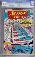 Action Comics #344 CGC 9.6 w