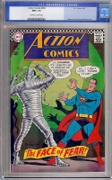 Action Comics #349 CGC 9.6 ow/w Cleveland Collection