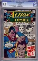 Action Comics #374 CGC 9.8 w