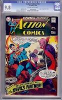 Action Comics #378 CGC 9.8 ow/w