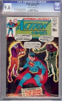 Action Comics #383 CGC 9.6 ow/w