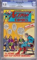 Action Comics #386 CGC 9.8 w