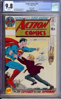 Action Comics #393 CGC 9.8 w Rocky Mountain