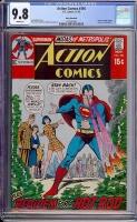 Action Comics #394 CGC 9.8 w Rocky Mountain