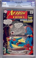 Action Comics #350 CGC 9.4 w Twin Cities