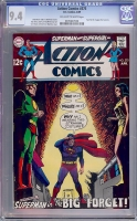 Action Comics #375 CGC 9.4 ow/w