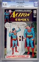 Action Comics #391 CGC 9.4 ow/w