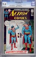 Action Comics #391 CGC 9.4 ow/w