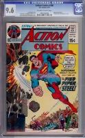 Action Comics #398 CGC 9.6 ow/w