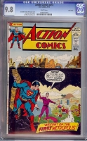 Action Comics #412 CGC 9.8 w Twin Cities