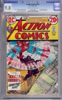 Action Comics #424 CGC 9.8 ow/w