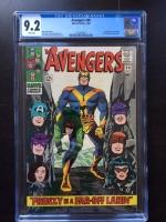 Avengers #30 CGC 9.2 w