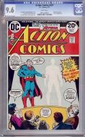 Action Comics #427 CGC 9.6 w