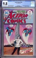 Action Comics #445 CGC 9.8 ow/w