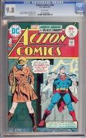 Action Comics #446 CGC 9.8 w Monterey Collection