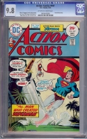 Action Comics #447 CGC 9.8 ow/w