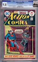 Action Comics #448 CGC 9.8 ow/w Rocky Mountain