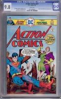 Action Comics #451 CGC 9.8 w