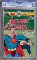Action Comics #453 CGC 9.8 w David Toth Copy