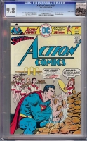 Action Comics #454 CGC 9.8 ow/w Rocky Mountain