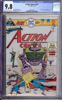 Action Comics #455 CGC 9.8 ow/w