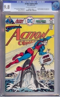 Action Comics #456 CGC 9.8 ow/w Tongie Farm