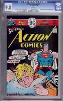 Action Comics #457 CGC 9.8 w