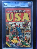 USA Comics #16 CGC 4.5 ow