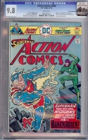 Action Comics #458 CGC 9.8 w Rocky Mountain