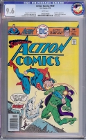 Action Comics #459 CGC 9.6 w Charleston Collection