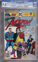 Action Comics #460 CGC 9.8 w Don Rosa Collection