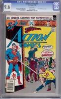 Action Comics #461 CGC 9.6 w