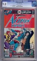 Action Comics #463 CGC 9.8 ow/w Tongie Farm