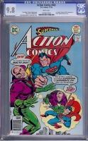 Action Comics #465 CGC 9.8 w