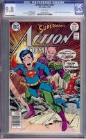 Action Comics #466 CGC 9.8 w