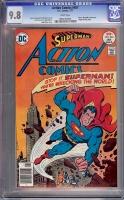 Action Comics #467 CGC 9.8 w