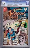 Action Comics #468 CGC 9.8 w