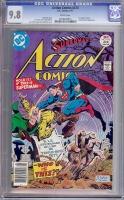 Action Comics #470 CGC 9.8 w