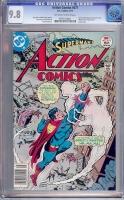 Action Comics #471 CGC 9.8 ow/w Tongie Farm