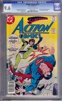 Action Comics #472 CGC 9.6 ow/w