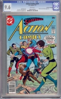 Action Comics #473 CGC 9.6 w Don Rosa Collection