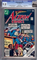Action Comics #474 CGC 9.8 w Rocky Mountain
