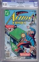 Action Comics #475 CGC 9.8 w