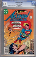 Action Comics #476 CGC 9.6 ow/w