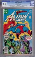 Action Comics #477 CGC 9.6 ow/w David Toth Copy