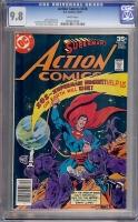 Action Comics #478 CGC 9.8 w