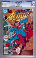 Action Comics #479 CGC 9.8 w