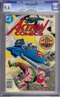 Action Comics #481 CGC 9.6 ow/w