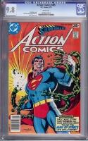 Action Comics #485 CGC 9.8 w