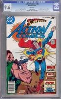 Action Comics #486 CGC 9.6 w David Toth Copy